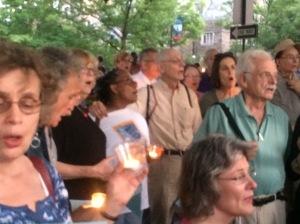 group at vigil