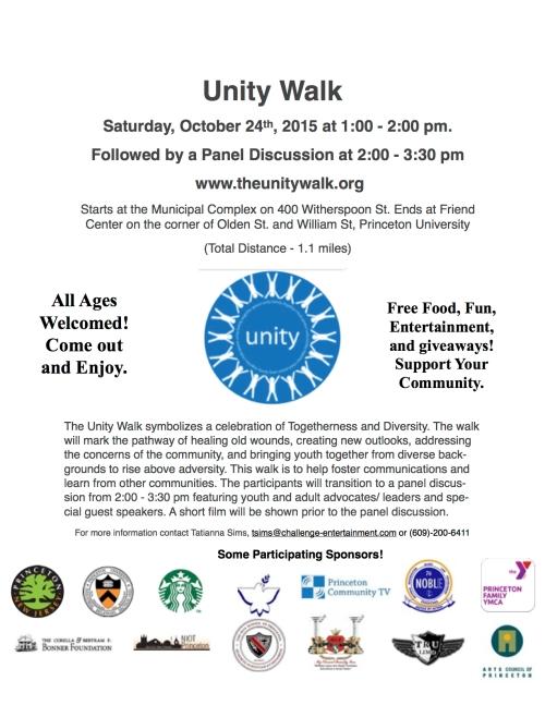 15-10 Unity Walk flyer
