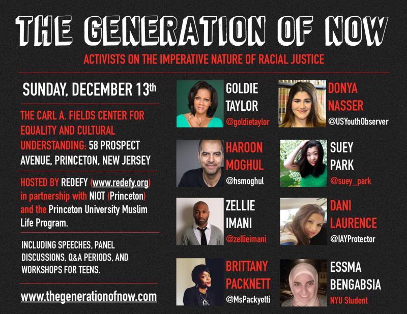 #TheGenerationOfNow Flyer