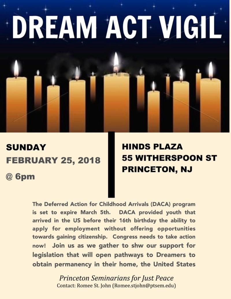 vigil flyer