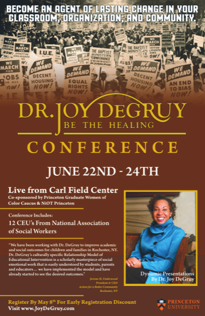 Dr joy degruy 2015