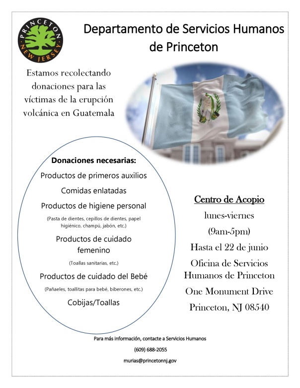 Guatemala Volcano Donation Flyer Sp