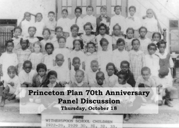 Princeton Plan Panel postcard front