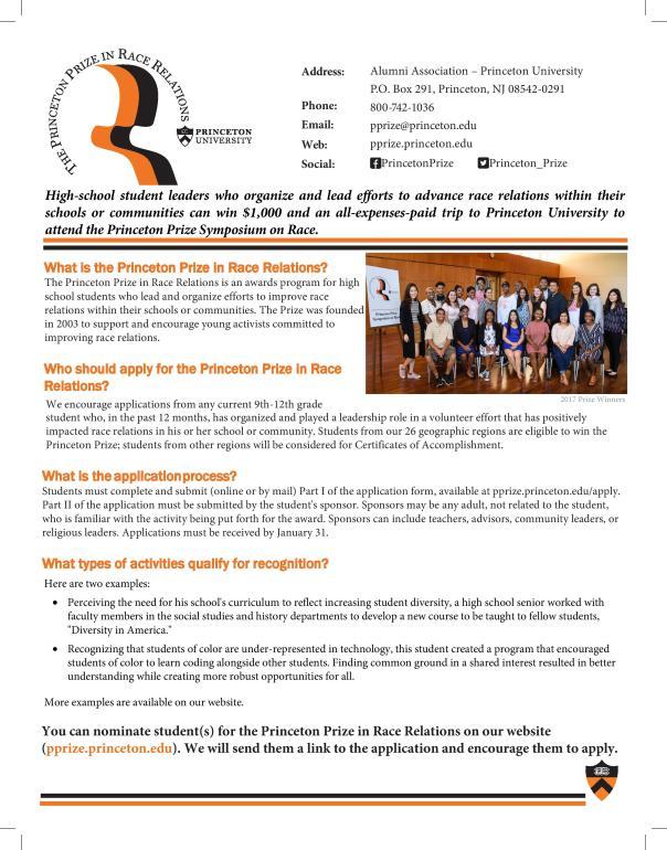 Princeton Prize