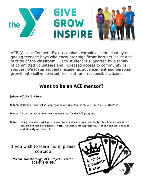 ACE information meeting