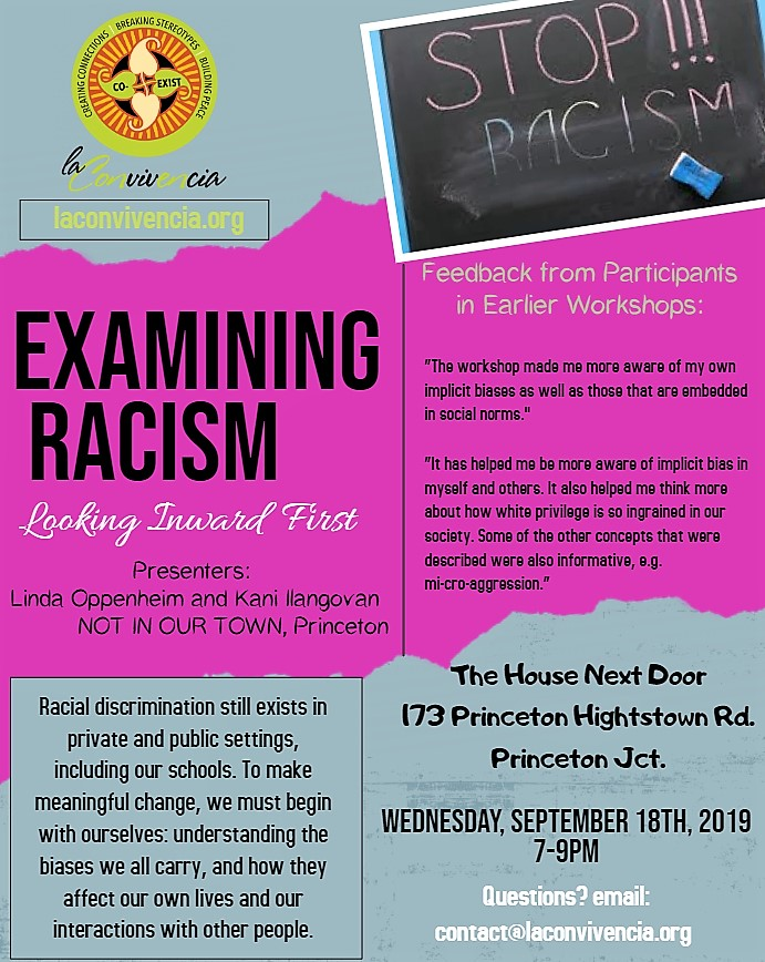 examining racism-Sept. 18