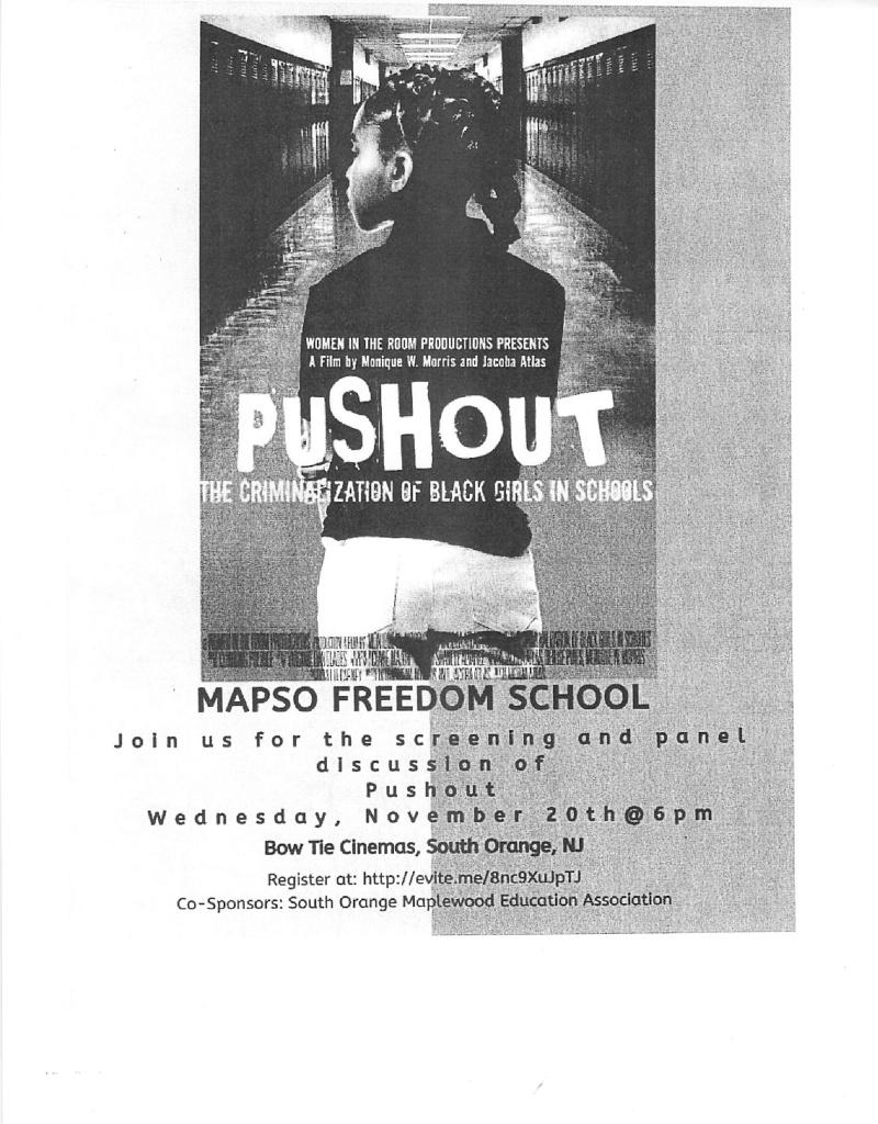 Pushout-The Criminalization of Black Girls in Schools