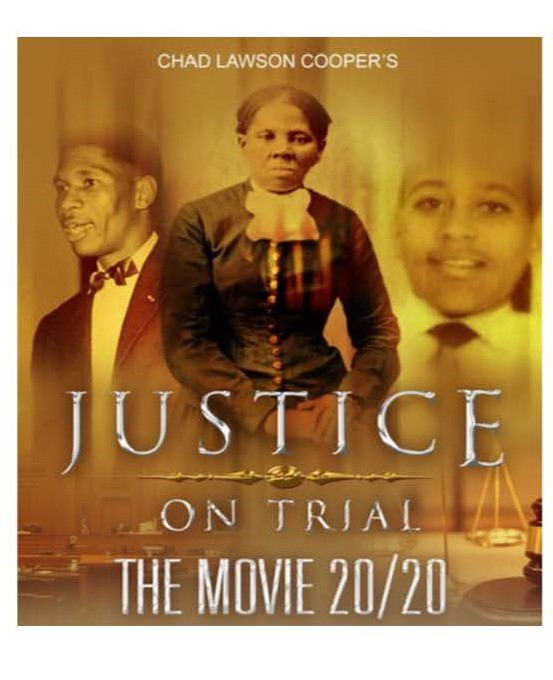 An image shows the title (Justice On Trial) and time and date (7:30pm on 2/20) of a special screening at Princeton's Garden Theatre