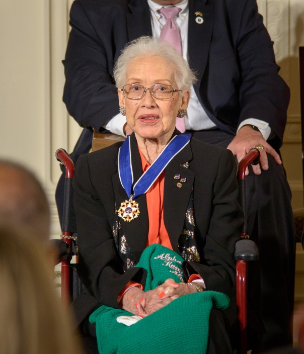 Katherine Johnson Receives Presidential Medal of Freedom